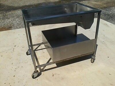 Donut Glazing Pan Donut Equipment on rolling stand $ 180 Freight ***