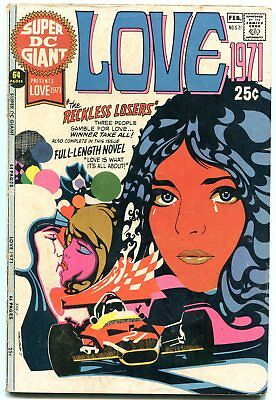 Super DC Giant #s-21 1971- Mod Fashions- Love 1971- Romance G