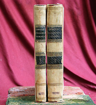 2 Antique books Josephi Cerulli, Napels 1813 Italy. PSYCHOLOGY