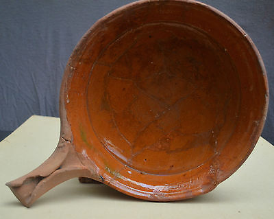 Nice 16th century Dutch late Gothic frying pan for pancakes