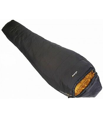 Vango Ultralite Pro 300 Sleeping Bag Lightweight Camping Synthetic Anthracite