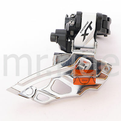 mr-ride Shimano XT Down Swing Front Derailleur FD-M786 Clamp On 34.9mm Silver