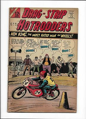 Drag-Strip Hotrodders #13 [1967 Vg] Motorcycle Cover!