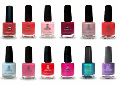 Jessica Nail Colour Polish Varnish 7.4ml & 14.8ml Full Range in Stock