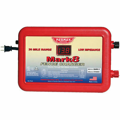 Parmak MARK 8 110-120V Electric Fencer Fence Charger USA