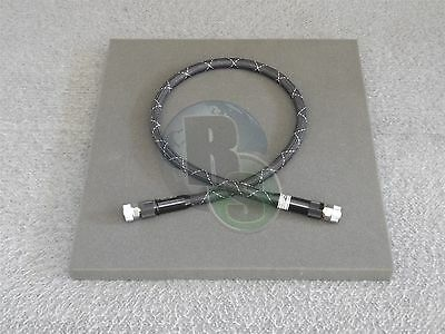 """Gore FB0HD0HD038.0 VNA 18 GHz Microwave RF Test Cable 38"""""""