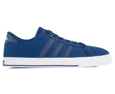 Adidas Men's NEO Daily Shoe - Mystic Blue/White