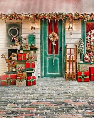 4x5ft Christmas Gifts Studio Photo Backdrops Vinyl Photography Background Props