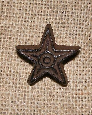 Star Knob Cast Iron Rustic Cabinet Furniture Door Drawer Pull Handle #409