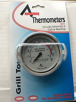 ADCRAFT Grill Surface Thermometer- GTT-1 - NIP