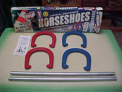 Official Pitching Horseshoes Horse Shoes Made In USA NIB NHPA