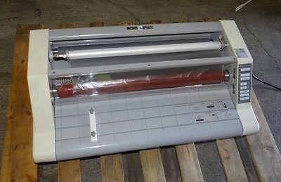"GBC Ultima HeatSeal 65 - 27"" School Thermal Roll Laminator Excellent Condition"