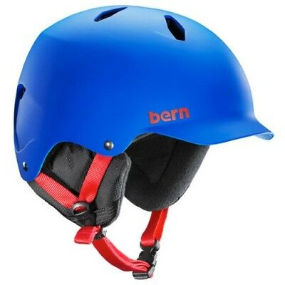Bern Junior Helm - Bandito EPS Matt Kobaltblau - Kinder Snowboard Bike, 2014
