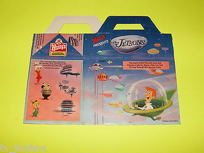 Jetsons HANNA BARBERA 1989 Wendy's Kid's Meal HAPPY MEAL Advertising Item