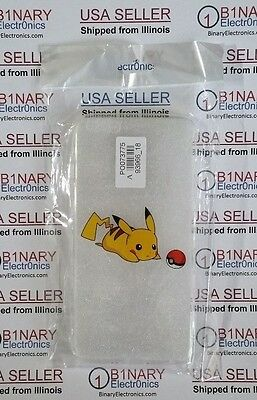 iPhone 6 PLUS POKEMON Pikachu TPU rubber protector Cell Phone Case