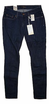 Levis 524 Junior Medium Skinny Jeans Too Super Low Stretch Dark Blue A New