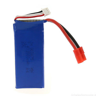 1pc 7.4V 2000mAh Lipo Battery For Syma X8 X8C X8W RC Quad Drone Spare Part New