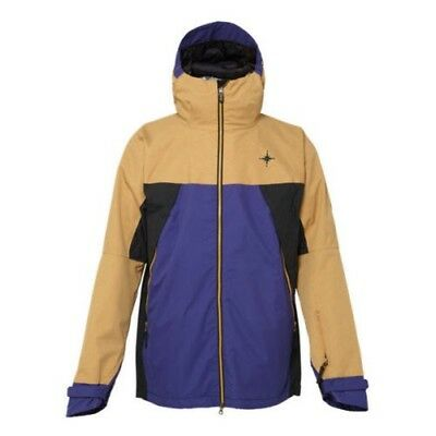 686 Forest Bailey Cosmic Snowboard Jacket Camel Colorblock 2015