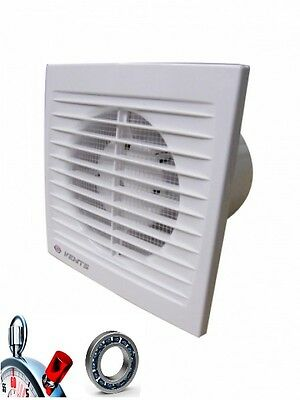 Bathroom Vent 150 STL, 292 M³/H , ( with Timer, Ball Bearings) Pipe Fan