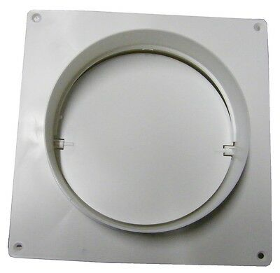 Non-Return Flap with Board 125 mm Connection