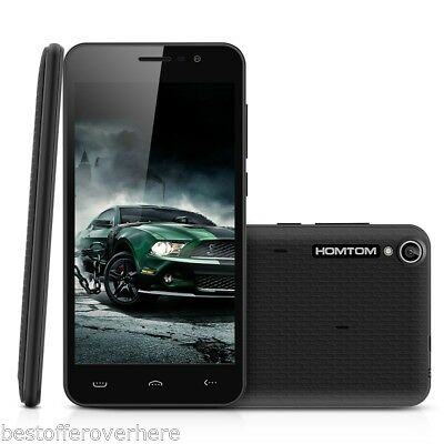 """Homtom HT16 5.0"""" Android 6.0 Marshmallow 3G Smartphone Quad core 8GB GSM Mobile"""