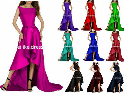 2018 Long Fashion Prom Dress Bridesmaid Wedding Evening Formal Party Ball Gown