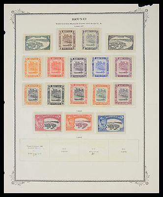 Lot 27649 Collection stamps of Brunei 1947-1988.
