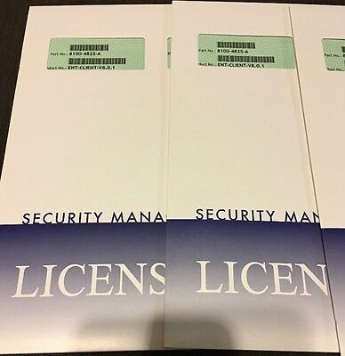 Amag 8.0.1 ENT-CLIENT SOFTWARE LICENSING PACK access Control