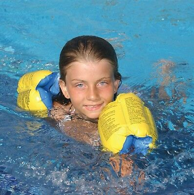 Kids Floaties - Swimming inflatable Arm Bands, AquaFun Learn to Swim AGES 3-6