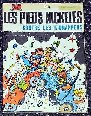 Les Pieds Nickelés contre les kidnappers (n°79) • EO 1973