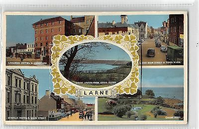 POSTCARD  N  IRELAND   LARNE   View  Novelty  Card