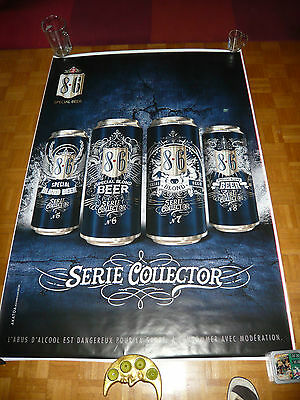 Exceptionnel Affiche Brasserie Bavaria Collector Series 118,5 Sur 175,5
