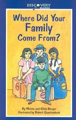 Where Did Your Family Come From?: A Book about Immigrants 9780824953201