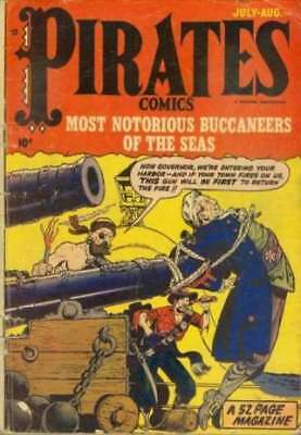 Pirate Comics #3 in Very Good + condition. FREE bag/board