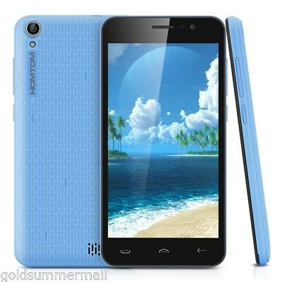 """Homtom HT16 5.0"""" 3G Smart Mobile Phone Android 6.0 MTK6580 Quad Core 1.3GHz 8GB"""