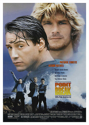 Point Break (1991) - A2 POSTER ***LATEST BUY 1 GET 1 FREE OFFER***