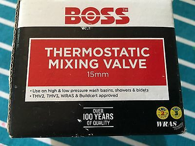Boss 15mm Thermostatic Mixing Valve