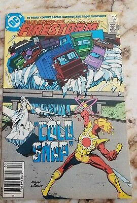 Fury Of Firestorm #21 Vf-' 1St Louise Lincoln Death Of Killer Frost 1 Key Comic