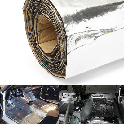 100cm x 100cm Sound Deadener Cars Heat Shield Insulation Deadening Material Mat