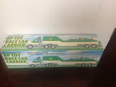 1993 Bp Toy Race Car Carrier Limited Edition Series