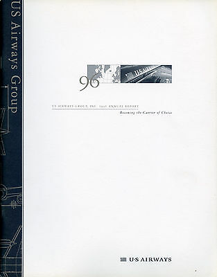 US Airways 1996 Annual Report, formerly US Air