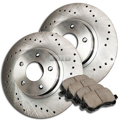 A0887 2006 2007 2008 2009 2010 2011 2012 2013 RAM 1500 Brake Rotors Ceramic Pads