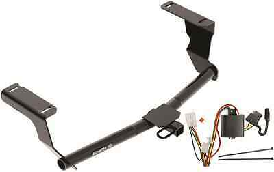 trailer hitch w/ wiring kit for 2013-2015 subaru xv crosstrek class i draw