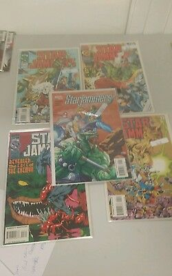 Lot 5 qty Marvel Starjammers lot of comics WE combine SH C2I • $4.49