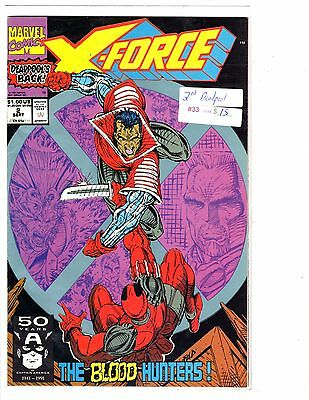 Marvel Deadpool X-force #2 2nd appearence comic book WE combine SH DT2