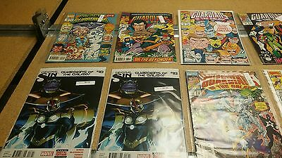 Lot of 9 Guardians of the galaxy comic books lot we combine SH B1E