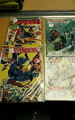 Lot 10 qty Marvel DEFENDERS Comic books Wallys Treasures Kentwood, MI B1B