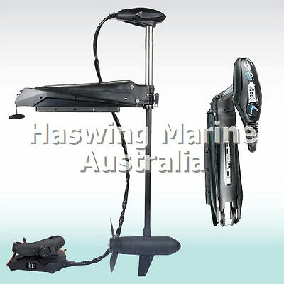 Bow Mount Trolling Motor Cayman Pro 55lbs 12V Cable Steer Bow Mount by Haswing