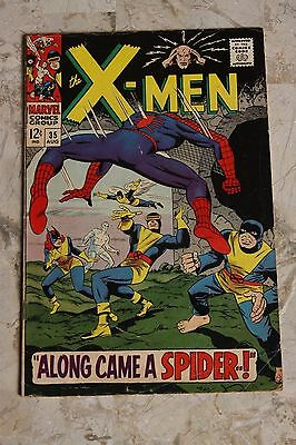 X-Men # 35 Spider-Man X Over 1st Appearance The Changeling