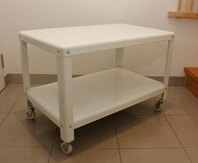 Coffee table o aud 3500 picclick au for White coffee table with wheels